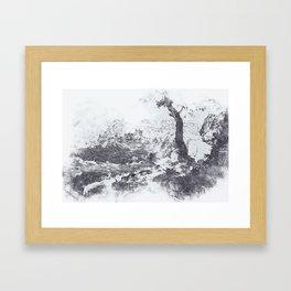 Countryside of Rome Framed Art Print