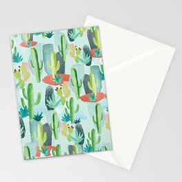 Cactus Forest Stationery Cards