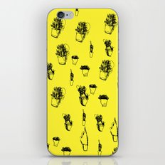 Plants and Planters botanical iPhone Skin