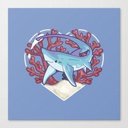 SNAP, the Thresher Shark Canvas Print