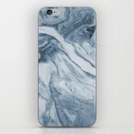 Cipollino Azzurro blue marble iPhone Skin