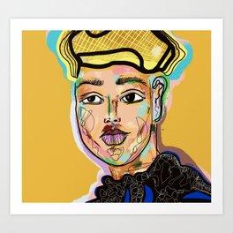 Fella Art Print