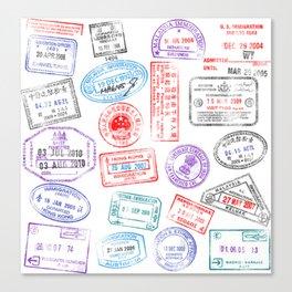 Passport Canvas Print