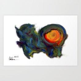 DigMint Art Print