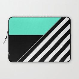 Asymmetrical patchwork 2 Laptop Sleeve