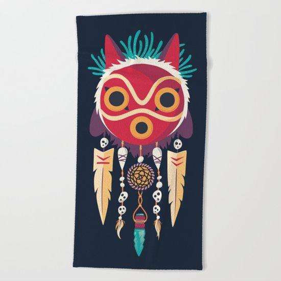 Spirit Catcher Beach Towel