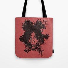 Basquiat botanical portrait Tote Bag