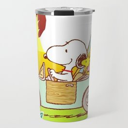 Snoopy Sunrise Travel Mug