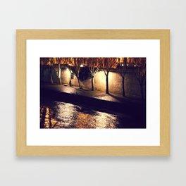 River Seine Framed Art Print