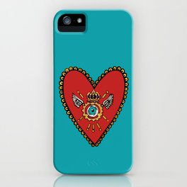 Sacred SteamHeart iPhone Case