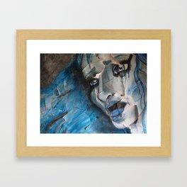 Lady Sings the Blues Framed Art Print