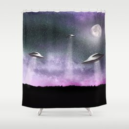 Alien Age 2.0 Shower Curtain