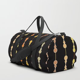 Multi-faceted decorative lines 14 Duffle Bag