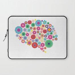 Flower brain Laptop Sleeve