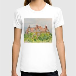 Texas State (SWT) University Old Main Building, San Marcos, TX T-shirt
