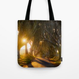 The Dark Hedges (RR192) Tote Bag