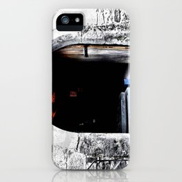 Dare Ye Enter iPhone Case