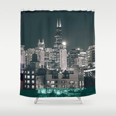 Chicago | Project L0̷SS   Shower Curtain