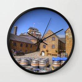 Hook Norton Barrels  Wall Clock
