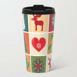 Holiday Cheer Christmas Travel Mug