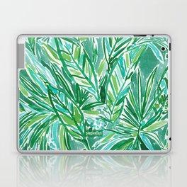 FUNKY JUNGLE Green Palm Pattern Laptop & iPad Skin