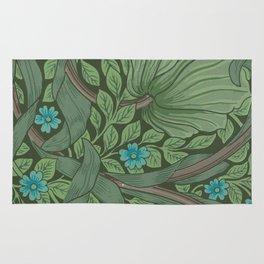 """William Morris """"Forget-Me-Nots"""" (""""Pimpernel"""" detail) Rug"""