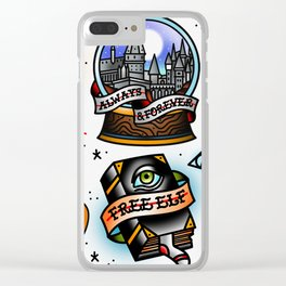 Wizardry Flash Sheet Clear iPhone Case