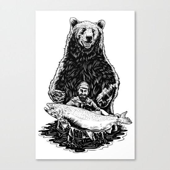 Bearware Canvas Print