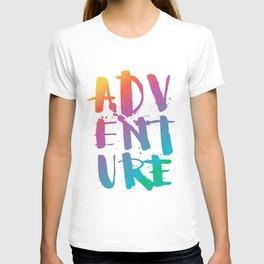adventure - rainbow T-shirt