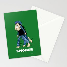 Smoker  Stationery Cards