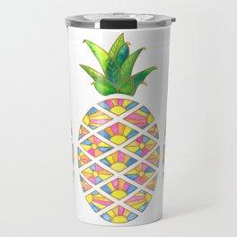 Pineapple Sunrise Travel Mug