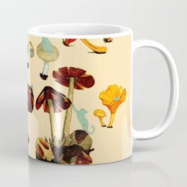 Cats and Spaceshrooms Coffee Mug