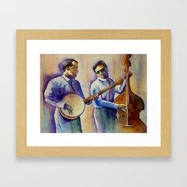 Musician Series I:  Ragtime Framed Art Print