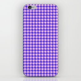 New Houndstooth 02191 iPhone Skin