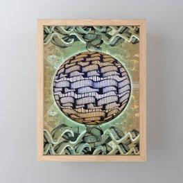 Aqua Station 04-08-16 Framed Mini Art Print
