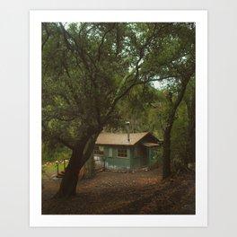 Cabin of Dreams Art Print