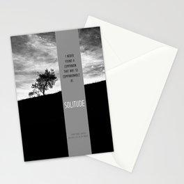 Henry David Thoreau - Solitude Stationery Cards