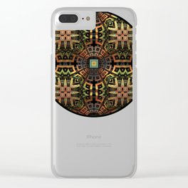 The Undiscovered Tribe Clear iPhone Case