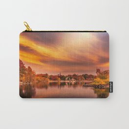 Sunset over Jamaica Pond Carry-All Pouch