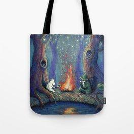 Moomin's night Tote Bag