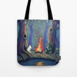 Moomin's night Tote Bag