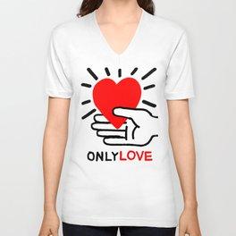 OnlyLove Unisex V-Neck