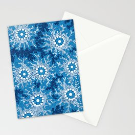 Authentic Aboriginal Art - Waterhole Dreaming Stationery Cards