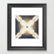 X is up Framed Art Print
