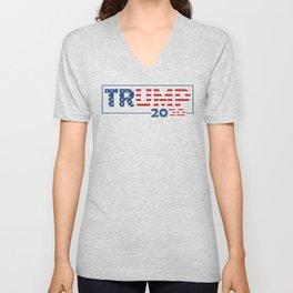 TRUMP 2020 - MAGA 2020 Unisex V-Neck