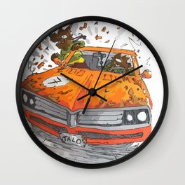 Kings of the now Wall Clock