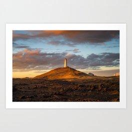 Lighthouse (RR 291) Art Print