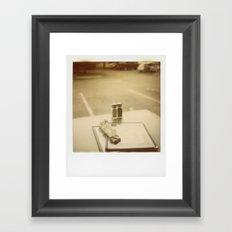 Dinner For Two Framed Art Print