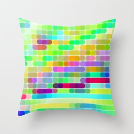 Re-Created Cypher 7.0 by Robert S. Lee Throw Pillow