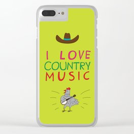 country music Clear iPhone Case